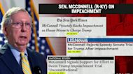 A look at Senator McConnell's timeline on Trump's second impeachment