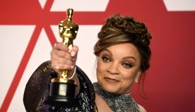 """Ruth Carter becomes the first black woman to win costume design Oscar for """"Black Panther"""""""