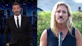 Jimmy Kimmel Turns Marjorie Taylor Greene Into Hitler
