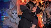 Kourtney Kardashian and Travis Barker Are Now Making Out at Knott's Scary Farm