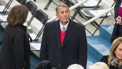 John Boehner says Trump incited Capitol attack via 'bullshit he'd been shoveling since he lost a fair election'