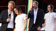 Meghan Markle & Prince Harry Hold Hands Onstage During Global Citizen Live Vaccine Speech