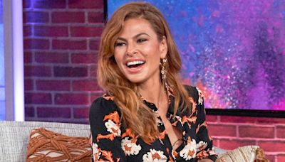 Eva Mendes Says She Thought Her Face Looked 'Weird' 20 Years Ago