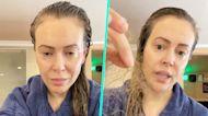 Alyssa Milano Reveals Shocking Hair Loss Months After Battling COVID-19
