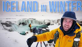 Winter Travel Photography in Iceland