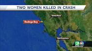 2 die after car plunges over Northern California cliff