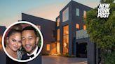 Chrissy Teigen and John Legend unload $17 million Beverly Hills mansion