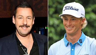 Adam Sandler Says He's 'Very Proud' of Golfer Will Zalatoris, Who Looks Like Happy Gilmore Caddie