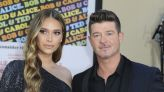 April Love Geary Has Us Seeing Triple in New Photo With Robin Thicke's Daughters