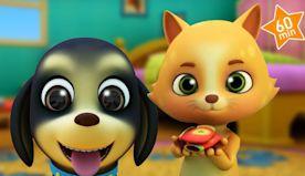 BINGO the Baby Dog + More Kids Songs & Nursery Rhymes for Children | Music Videos Cartoons