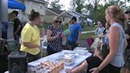 Woodridge community hosts block party months after EF-3 tornado