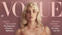 Billie Eilish Stuns In Bombshell Pin-Up Look For British Vogue: 'It's About What Makes You Feel Good'