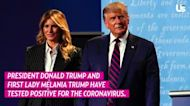 Melania Trump Reveals Son Barron Trump Also Tested Positive for COVID-19