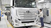 Hyundai rolls out fuel cell trucks in Europe in challenge to electrics