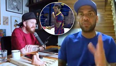 """Dani Alves: """"Extraño mucho al Barcelona, no he vuelto a encontrar otro sitio igual"""""""