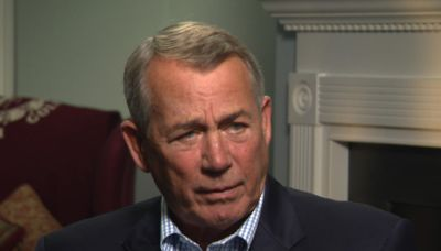 """Former House Speaker John Boehner accuses some in Congress of being """"political terrorists"""""""