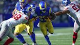 Rams' 38-11 victory over the New York Giants by the numbers