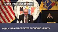 NJ Gov. Murphy discourages non-essential out-of-state travel