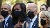 Joe and Jill Biden, Obamas and Clintons Reunite at 9/11 Memorial on 20th Anniversary of the Attacks