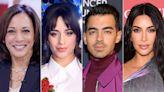 Kamala Harris Hosts Vaccine Discussion with Celebrities Including Kim Kardashian, Joe Jonas and Camila Cabello