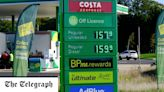 Petrol heads for 150p a litre after hitting record high