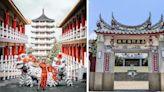 拍浮誇宮廷照不用飛出國!排排紅柱百年古剎就在台南