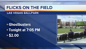 Watch Ghostbusters at ballpark