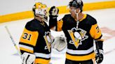 Carter, Lagace help Pens clinch home ice in first round