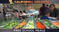 CA begins offering free school meals to millions of students