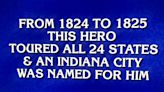 Final 'Jeopardy!': 'Who is Lafayette?' We knew that!