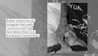 Kourtney Kardashian Gave Travis Barker a Tattoo
