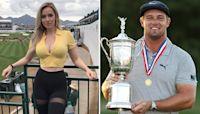 Paige Spiranac congratulates rival Bryson DeChambeau for US Open win