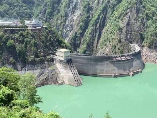 德基水庫再進帳145萬噸 蓄水率達56.07%