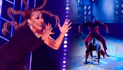 Judges and fans are shocked after scary-good performance on 'DWTS' horror night