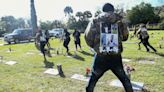 Mother shot at funeral for teen son killed by Florida sheriff's deputy
