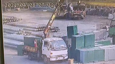 工地男子遭600公斤電箱壓住 無生命跡象