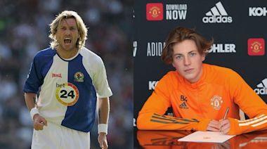 英超 「殺人王」沙維治後繼有人 17歲兒子查理簽下曼聯職業合約   蘋果日報