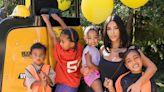 See Saint & Psalm West Adorably Crash Mom Kim Kardashian's Workout Sesh - E! Online