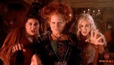 The Sanderson Sisters Are Back! Here's A Sneak Peek At The 'Hocus Pocus' Reunion