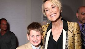 Sharon Stone shares incredibly rare photo with her three sons to mark special occasion