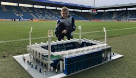 How one kid's mission to build every Bundesliga stadium out of Lego earned fans at Germany's top clubs