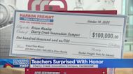 Two Local Teachers Got Quite A Surprise Today When They Were Each Awarded A $100,000 National Teaching Prize