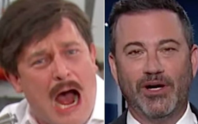 Jimmy Kimmel Brings Back His Fake MyPillow Guy For An Unhinged Update