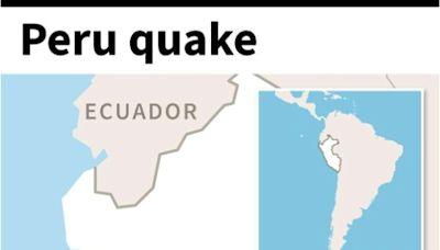 Strong earthquake shakes Peru's capital Lima