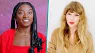 Simone Biles Presents Taylor Swift With Gracie Award: 'That Made My Heart Skip A Beat'
