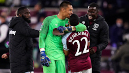 West Ham end Manchester City's Carabao Cup reign