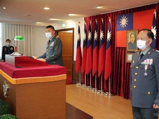 參謀總長陳寶餘主持新官布達 勉官兵持續建軍備戰