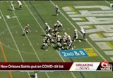 2 New Orleans Saints players placed on COVID-19 list