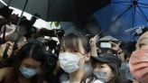 Prominent Hong Kong democracy activist Agnes Chow released from jail