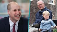 Prince William Displays Heartwarming Photo Of Prince Philip & Prince George In His Office